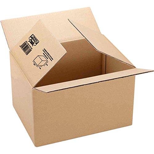 Fixo 18102 - Caja de embalaje, marrón, 300 x 200 x 150
