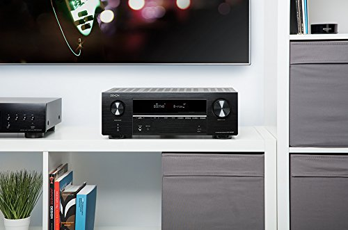 Denon AVR-X550BT 5.2 Av-Receiver 5x130W Black 4K UltraHD, Bluetooth, USB