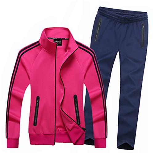 DOUFAN Lente en Herfst 2-delige Set Paar Sport Pak XL Sportkleding Mannen