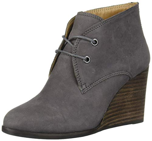 Lucky Brand Women's SHIIJO Ankle Boot, Storm, 7.5