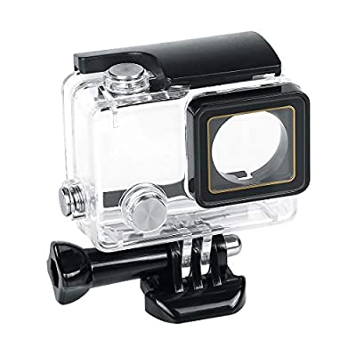 Waterproof Housing Case, hongdak Underwater Protective Case Shell with Bracket Accessories, Housing Case Diving 60 Meter for Go Pro Action Camera by LampStand