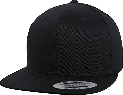 Flexfit Organic Cotton Snapback Cap, Black, one Size