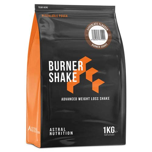 Burner Shake - 1 Month Supply Chocolate | Fat Burning Weight Loss Shake | Contributes to Metabolism | Suppresses Appetite