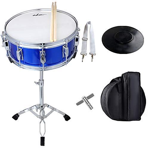 """ADM, 0-String Snare Drum, Dark Blue (Beginner Set 14""""X 5.5"""")"""