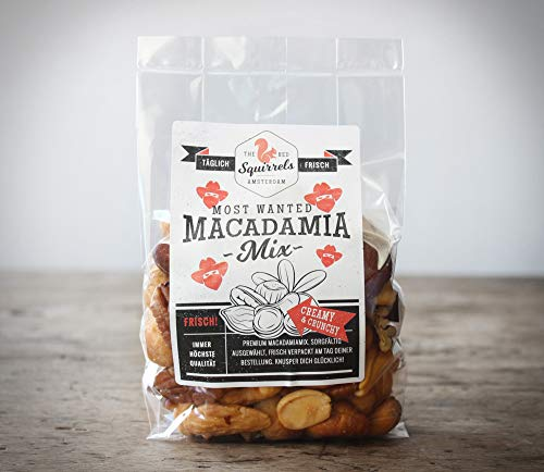 TÄGLICH FRISCH GERÖSTET. Most Wanted Macadamia Mix (geröstet gesalzen, 1000 g)