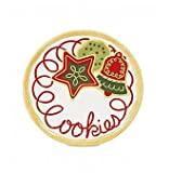 Fitz & Floyd Sugar Coated Christmas Cookies for Santa Plate