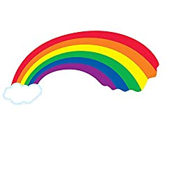 Rainbow Cutout Party Accessory