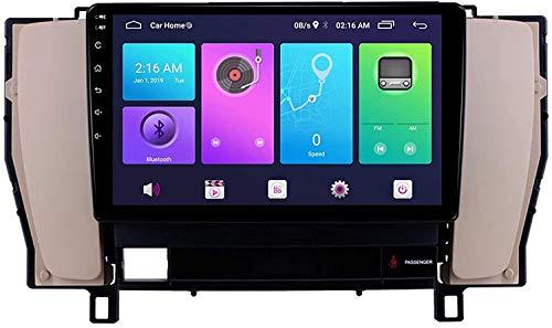 GPS Navigation Head Unit Sat Nav Auto Audio Player MP5 FM Radio Receptor Coche Estéreo De 9 Pulgadas Pantalla Táctil Android 10.0 Compatible para Toyota Crown12 2003-2007,8 Core 4G+WiFi 2+32GB