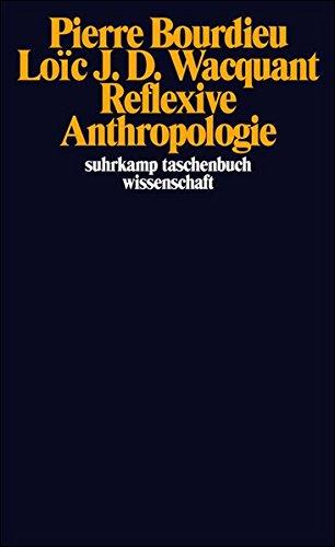 Reflexive Anthropologie (suhrkamp taschenbuch wissenschaft)