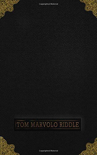 Tom Marvolo Riddle: Harry Potter - Horcrux - Tom Riddle Diary - Journal of Tom Marvalo Riddle - Ruled