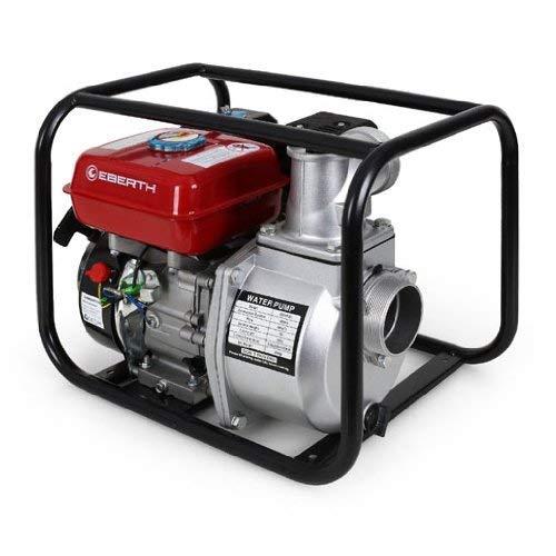 EBERTH 6,5 PS 3 Zoll Wasserpumpe Benzin Motor Pumpe