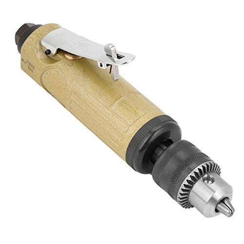 Taladro neumático de alta velocidad Potente-aerodinámico 1 Uds Taladro eléctrico de tipo recto Taladro de aire potente de 3/8 pulgadas para trabajo de perforación