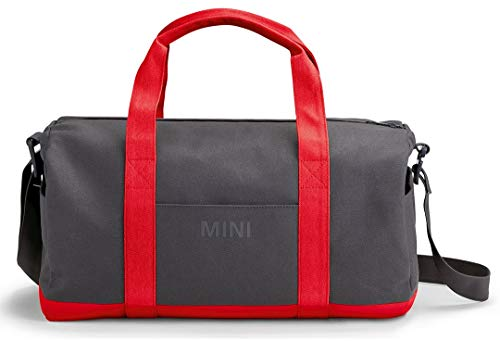 Mini Original Colour Block Duffle Bag Tasche Coral/grau / rot Kollektion 2018/2020