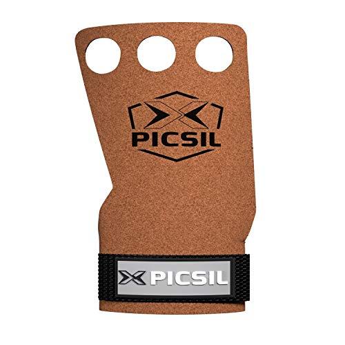 PICSIL Raven Grips 3H - Calleras para Crossfit Grips Gymnastics, pullu