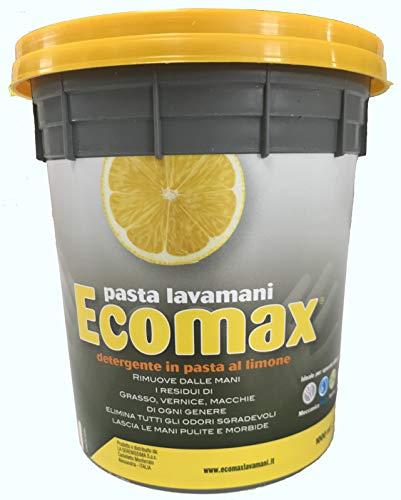 Pasta lavamani ECOMAX 3 barattoli da 1 Kg super sgrassante con glicerina MADE IN ITALY