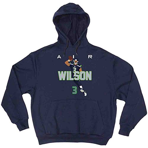 The Silo Navy Seattle Wilson AIR PIC Hooded Sweatshirt Youth