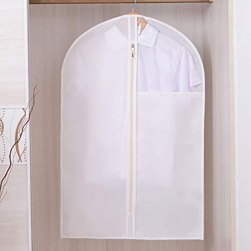 QFFL Sac de compression sous vide Housse anti-poussière, sac en tissu Oxford Vêtements Cover Cover Suit costume anti-poussière sac de rangement Vêtements Pack 1 Pack Sac de protection