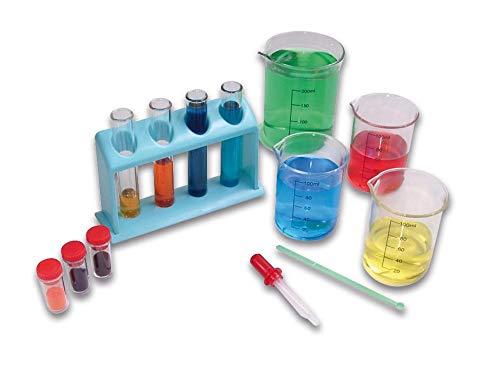 Betzold 51412 - Farb-Misch Experimentierkasten Farben-Lehre Kinder - Experimentier-Set Lehrmittel Kunst-Bedarf Schulbedarf