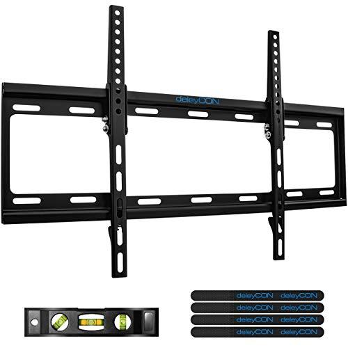 """deleyCON Universal TV Wandhalterung 37\""""-70\"""" Zoll (94-178cm) Neigbar - 35Kg - bis VESA 600x400 - Plasma LCD LED OLED TFT Fernseher Halterung Halter"""