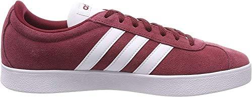 adidas Herren VL Court 2.0 Fitnessschuhe, Rot (Buruni/Ftwbla/Negbas 000), 42 EU
