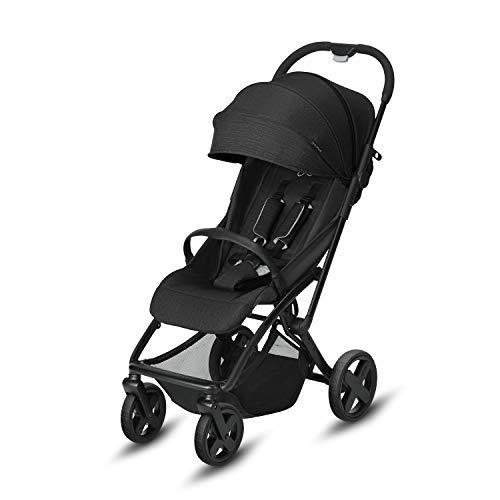 CBX Etu Plus - Silla de paseo, incluye plástico para lluvia, desde el nacimiento hasta los 15 kg, Smoky Anthracite