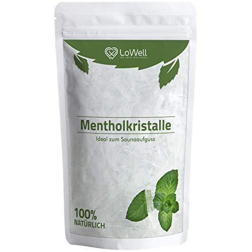 Mentholkristalle 50g - Premium-Qualität Sauna Kristalle Menthol - Saunakristalle Minze