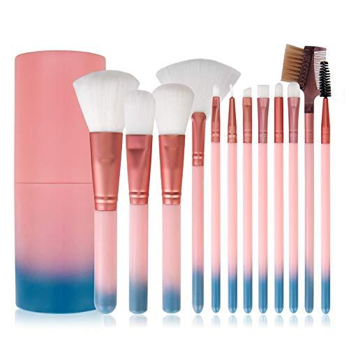 Pinceau De Maquillage, Ensemble De Pinceaux De Maquillage De Dégradé De Beauté, Pinceau De Maquillage 12 Pièces