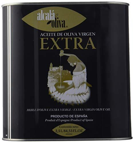 Alcala Oliva - Aceite de Oliva Virgen Extra, 2500 ml