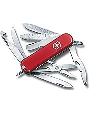 Victorinox Mini Champ zakmes (18 functies, schaar, oranje schiller) rood