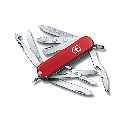 Victorinox Unisex's Mini Champ Swiss Knife-Red, One Size
