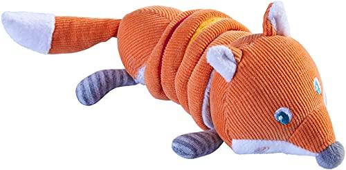HABA Fox Soft Corduroy Vibrating Plush Baby Toy