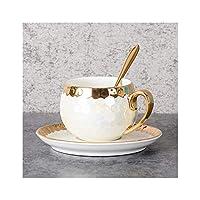 セラミックコーヒーカップセットミニマリストプノンペンマグイングリッシュティーカップティーセット誕生日ギフトホームデコレーション、A