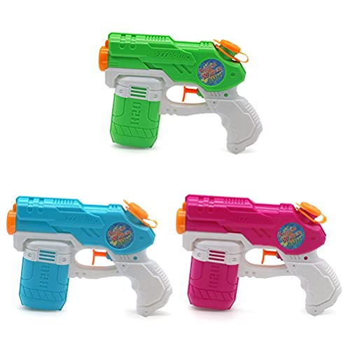 Water Gun Toys for Kids, 3 Pack Water Pistols for Summer Water Sports Garden Beach Pool Bath Party Toy Small Squirt Gun, Blaster Toy for Kids and Adults