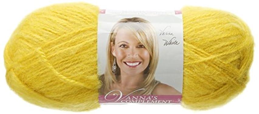 Lion Brand Yarn 866-158 Vanna's Complement Yarn, Mustard