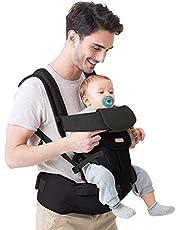 Maydolly nosidełko dla niemowląt z siedziskiem biodrowym 3 w 1 nosidełko dla niemowląt do małych dzieci owijane od 3 miesięcy do 16 kg czarne