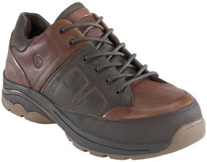 Rockport Men's Works Composite Safety Toe Oxfords Brown, Brown