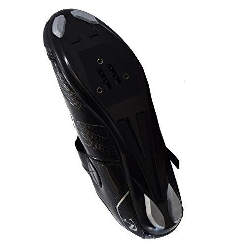 VeloChampion Elite Rennradschuh (Paar) Black/Silver 41 Road Cycling Shoes - 5