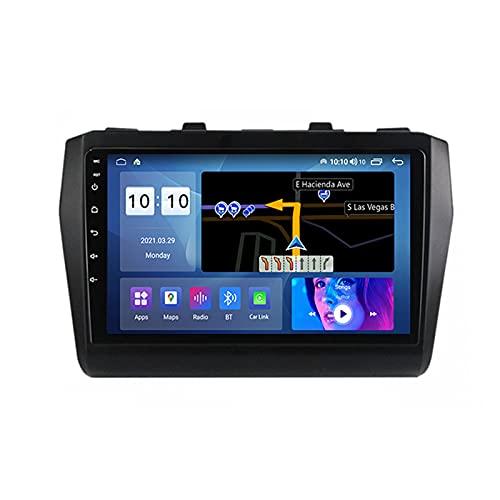 ADMLZQQ for Suzuki Swift 5 2016-2020 Autoradio 2 DIN Apple Carplay 9'' Android Car Radio Touchscreen RDS Backup Camera GPS Plug And Play 5G WiFi SWC Support DVR/Dab+/OBDII ETC,M500s