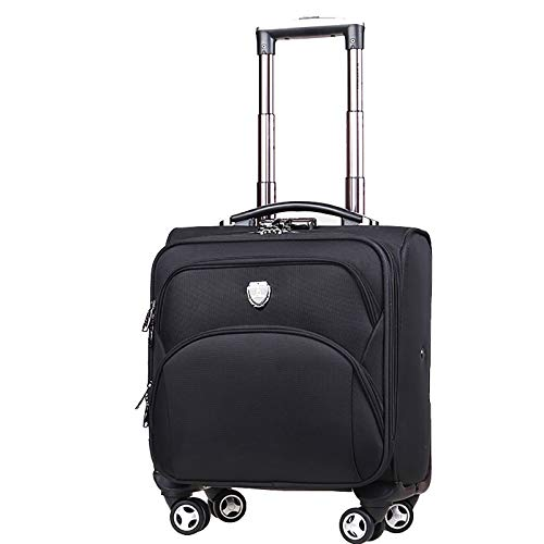 Rolling Laptop Bag,Rolling Briefcase for Business Travel, Fits Notebook, Carry-on Luggage Attache Case Waterproof Rolling Work Bag (Color : B, Size : 39 * 22 * 38)
