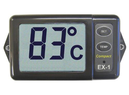 Nasa EX1 Exhaust Temperatur-Monitor/Wecker, Schwarz