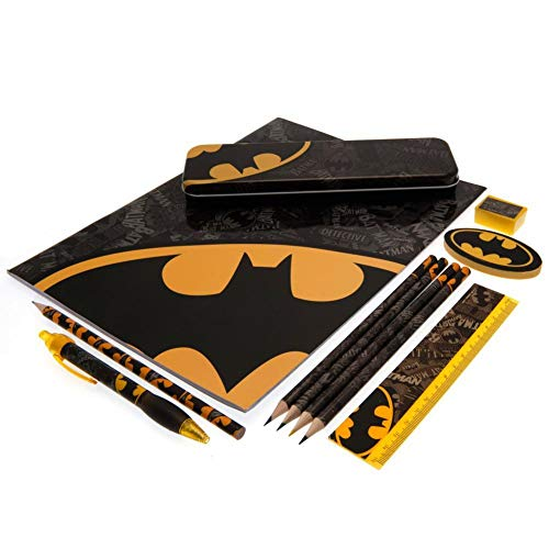 DC - Bumper Stationery Set Batman Logo Strike