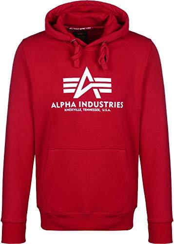 Alpha Industries Herren Kapuzenpullover Basic Hoodie