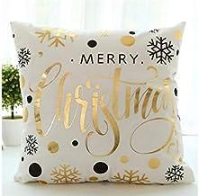 Pengcher Christmas Home Decor Pillowcase Decoration Sofa Car Cushion