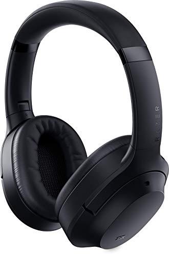 Razer Opus - Black ノイズキャンセリング搭載ワイヤレスヘッドホン マイク付 THX認証を取得した サウンド Bluetooth/有線(3.5mm) キャリーケース付属 PS4 PC Switch スマホ 【日本正規代理店保証品】 RZ04-02490101-R3M1