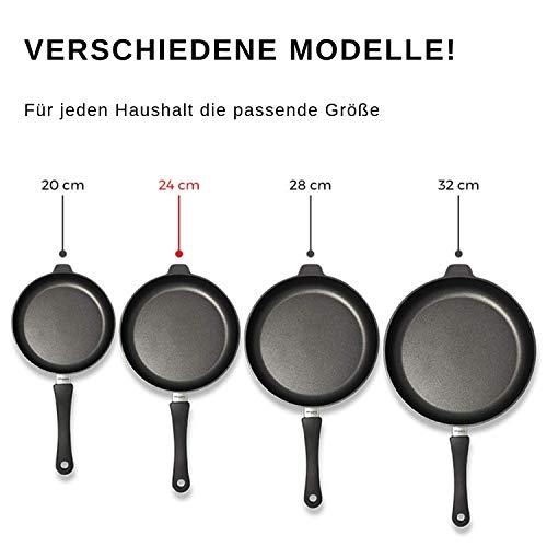 Lieblingspfanne Hochrandpfanne Aluminium Gus Antihaft 20 cm, Höhe 7 cm INDUKTION - 3