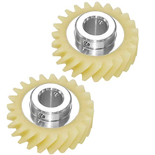 Mixer Worm Gear W10112253 - Primeswift Replacement for 4161531 4162897 4169830(2 PACK)