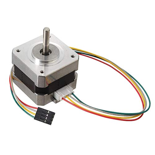 Computer Accessories, 12V 2pcs 42mm Nema 17 Two Phase Stepper Motor for 3D Printer
