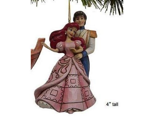 DISNEY TRADITIONS ARIEL AND ERIC HANGING ORNAMENT A28962