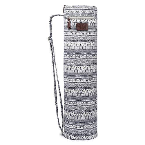 Fremous yoga Mat bag e supporti per uomini e donne–Doppia tasca portaoggetti–facile accesso cerniera–Tracolla regolabile e maniglia, Bohemia