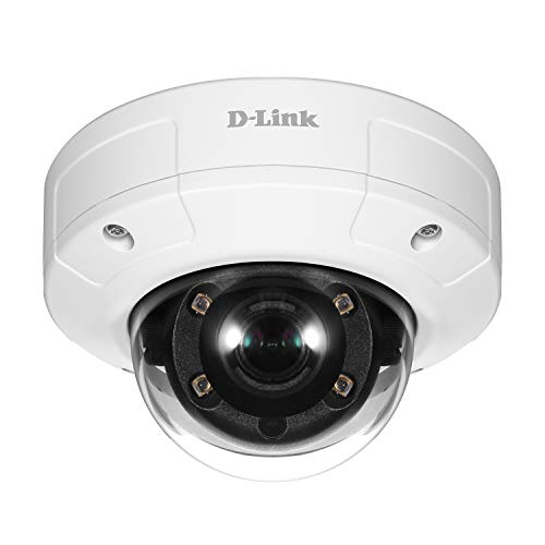 DLink Security Outdoor Camera Vigilance 2 Full HD Motion Detection amp Night Vision Fast Ethernet Port PoE Local and Cloud Recording DCS4602EVVB1
